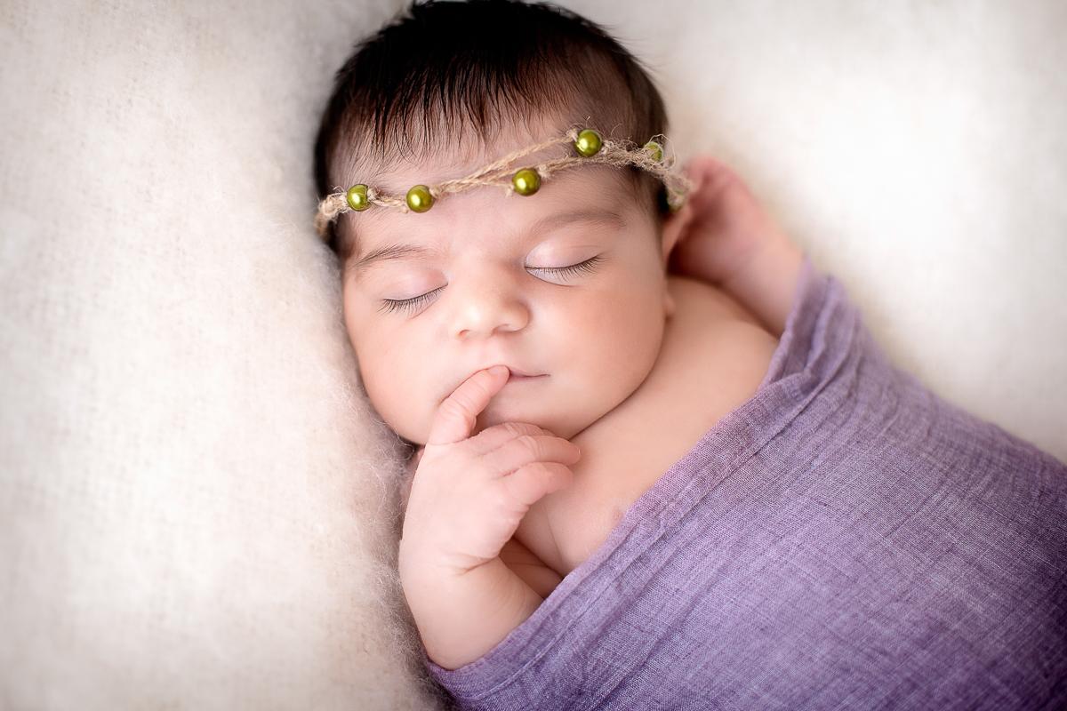 photographe nouveau-né aunay sur odon bébé qui dort