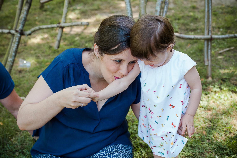 photo maman et fille