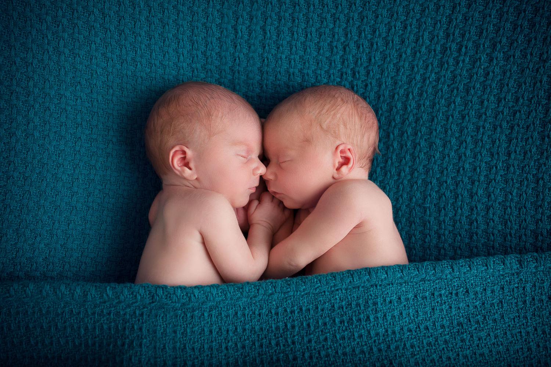 séance photo nouveau-né jumeaux studio photo thury harcourt