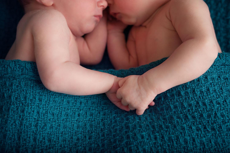 séance photo nouveau-né jumeaux studio photo caen