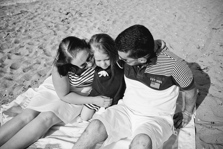 Séance photo famille Ouistreham Plage