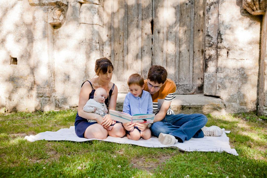 photographe famille saint lô