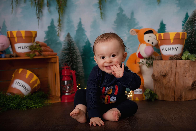 seance photo bébé winnie l'ourson caen