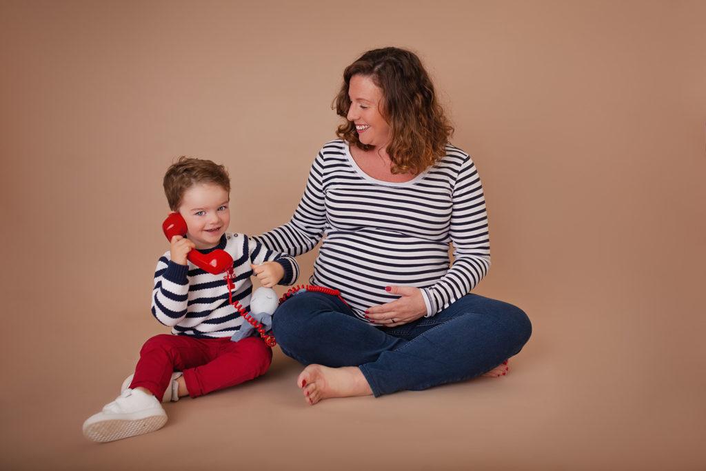 photographe grossesse saint remy sur orne