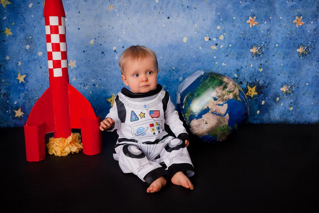 seance photo bebe theme espace astronaute caen